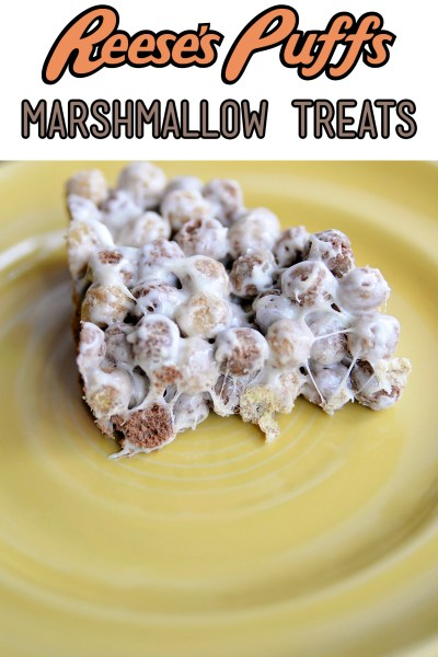 Reese's Puffs Marshmallow Treats