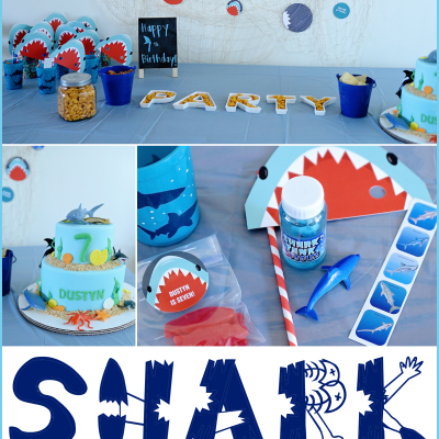 Shark Birthday Party