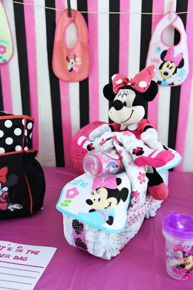 She Took Awesome Photos Of The Process And Gave Really Great Directions. I  Used The Disney Baby Minnie Mouse Bibs, Receiving Blankets, ...