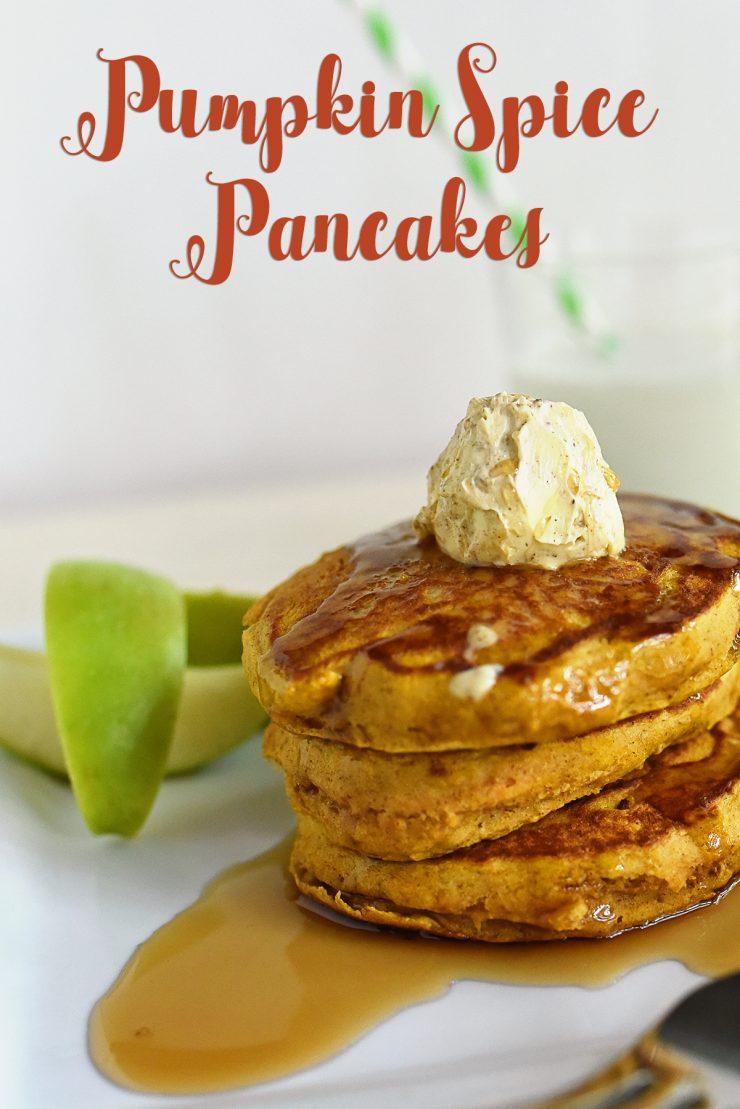 Pumpkin Spice Pancakes | #12DaysofPancakes#CollectiveBias #ad