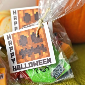 Minecraft Halloween Printable