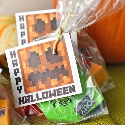 Minecraft Halloween Printable