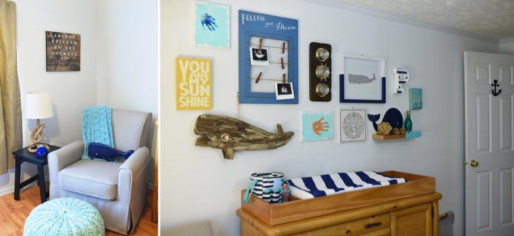 Whale Themed Nursery