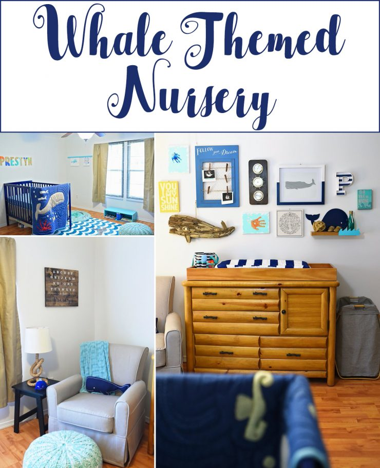 Whale Themed Nursery