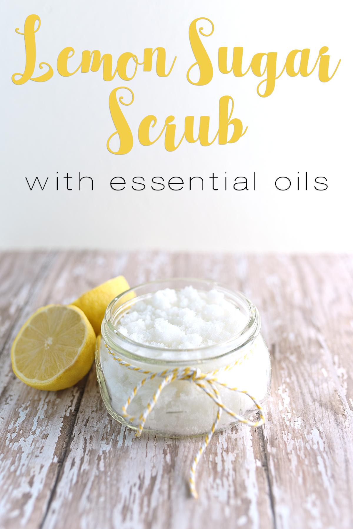 Lemon Sugar Scrub Sarah Halstead