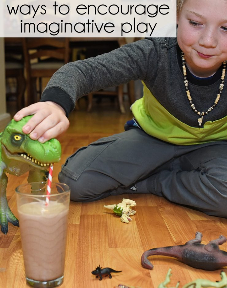 ways to encourage imaginative play