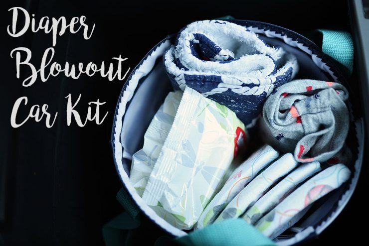 Diaper Blowout Car Kit