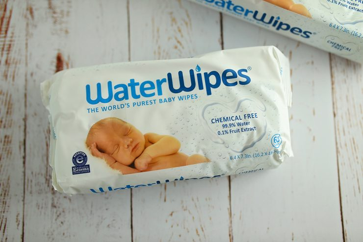 Newborn Love with Water Wipes