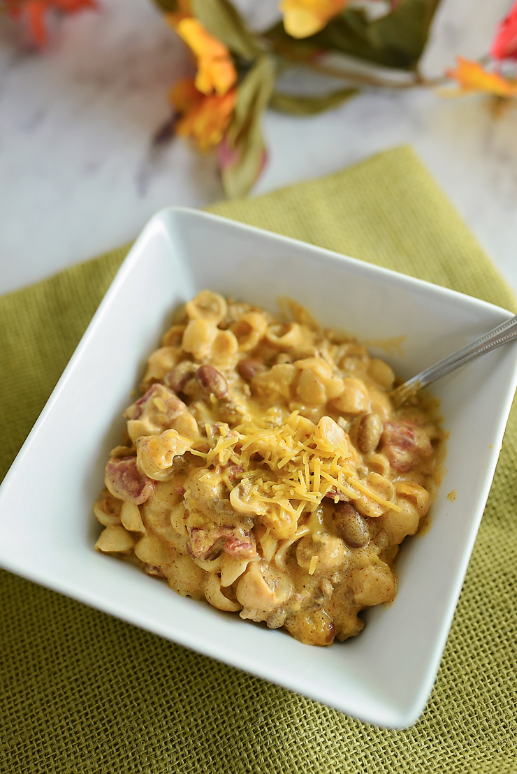 Chili Mac and Cheese