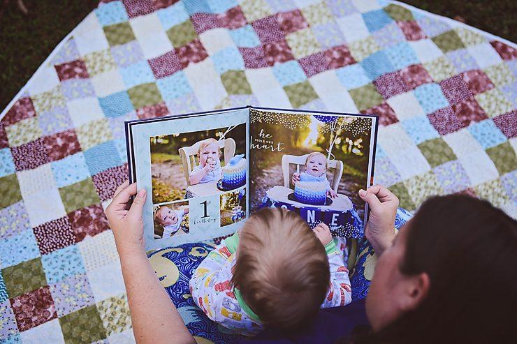 Prestyn's 1st Year Photo Book