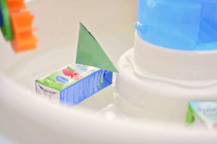 Juice Box Boat Craft