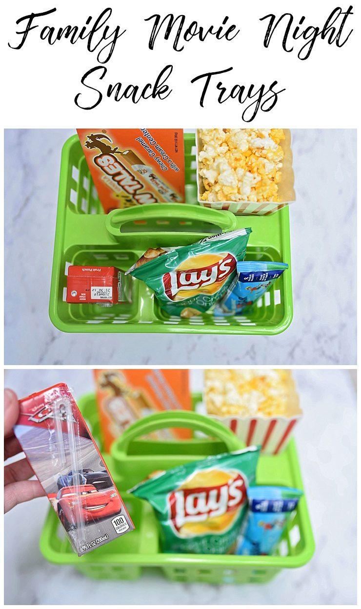Movie Night Snack Tray