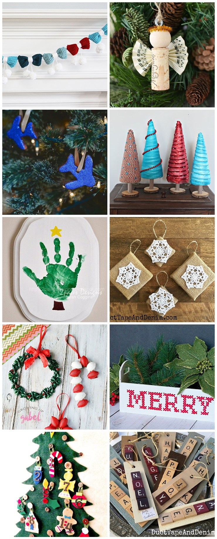 Christmas Crafts & DIY Ornaments
