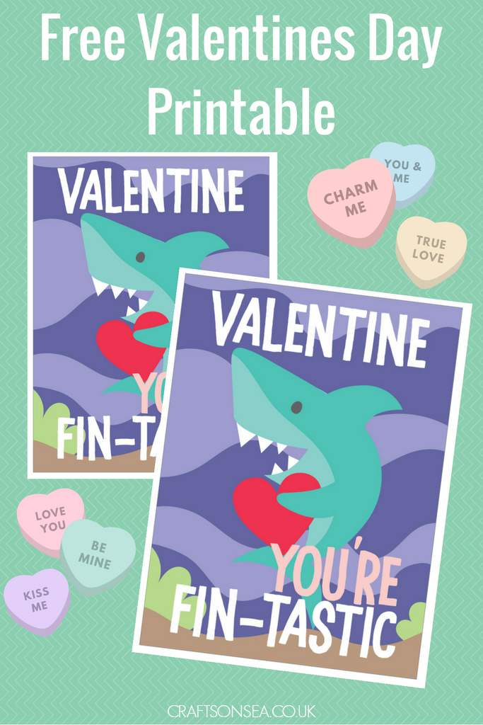 Shark Valentines by Crafts on Sea