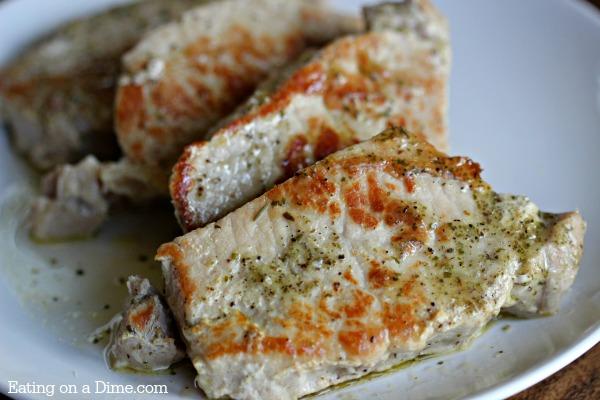 Buttery Ranch Pork Chops