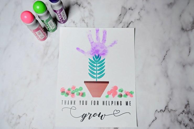 thank you for helping me grow free printable sarah halstead