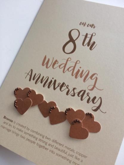 bronze anniversary