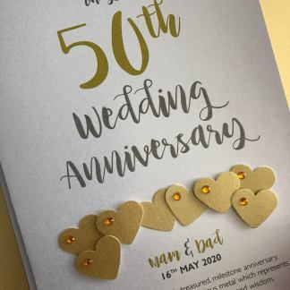 Golden (50th) Anniversary Card