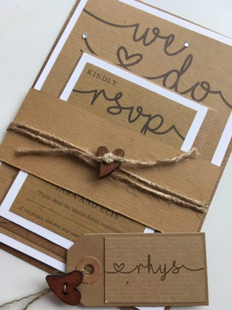 Rustic Charm with wrap