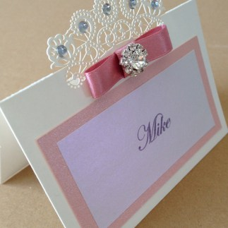 Afternoon tea placecard