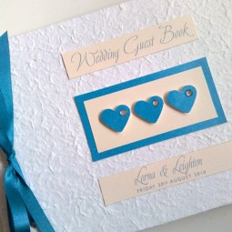 Romantic guestbook