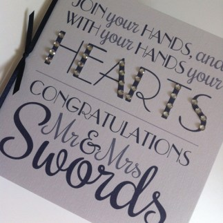 wedding congratulations - Mr & Mrs