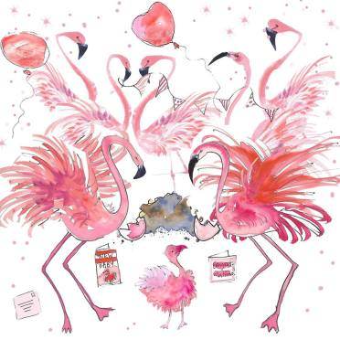 flamingo paperie launch photo