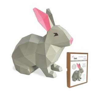 Bunny Paper Craft Kit Image