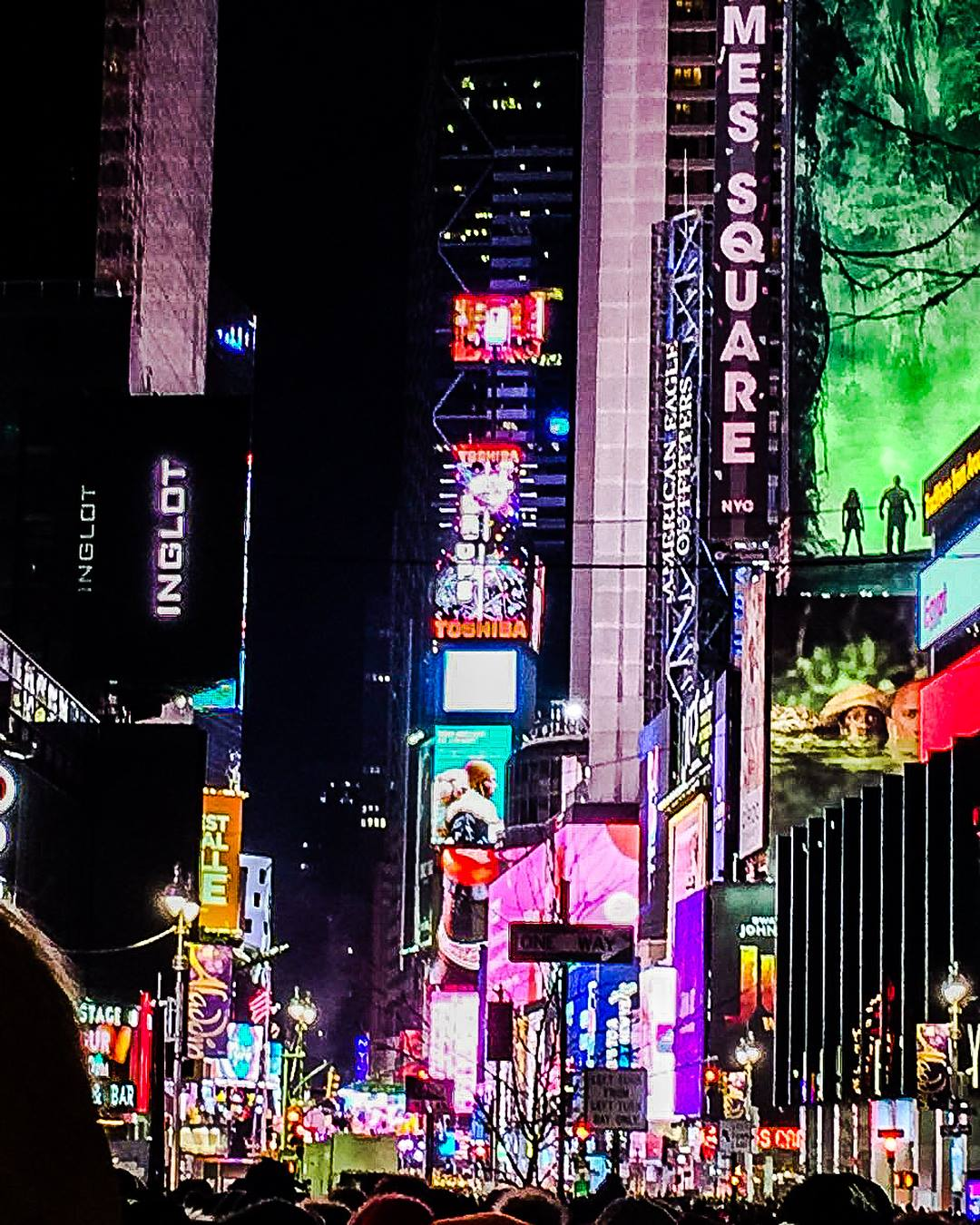 New Year's Eve in NYC: Times Square