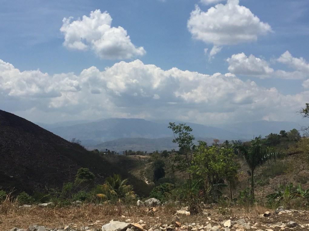 views of the mountains near Bois Jolis, Haiti
