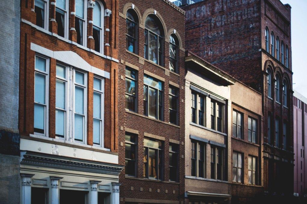 Brick Buildings Nashville