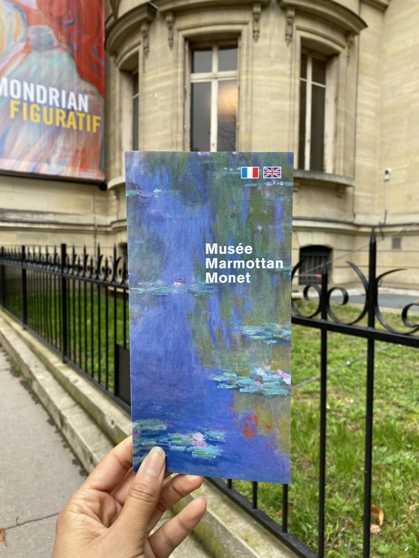 Marmottan Monet Museum: information pamphlet