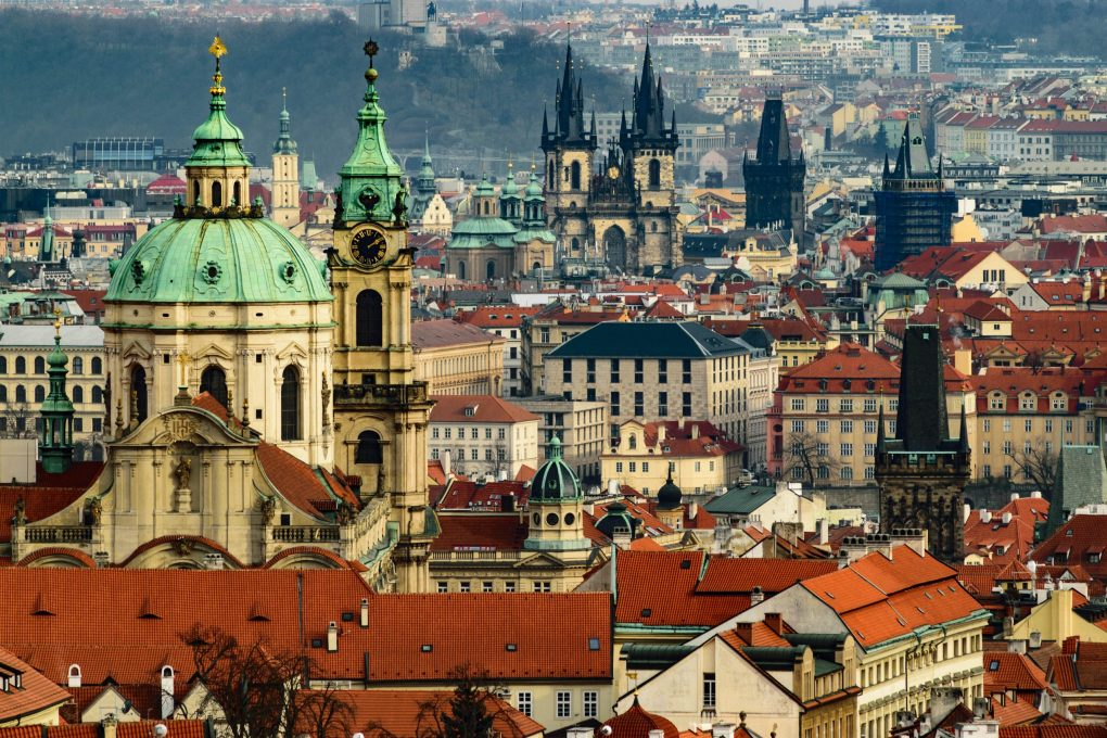 view of Prague, Czechia