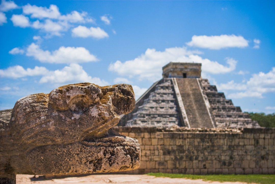 Chichán Itzá in Yucatán Peninsula, México