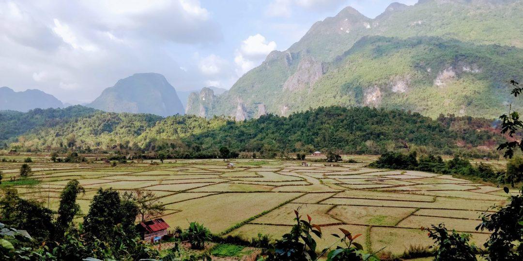 countryside in Laos