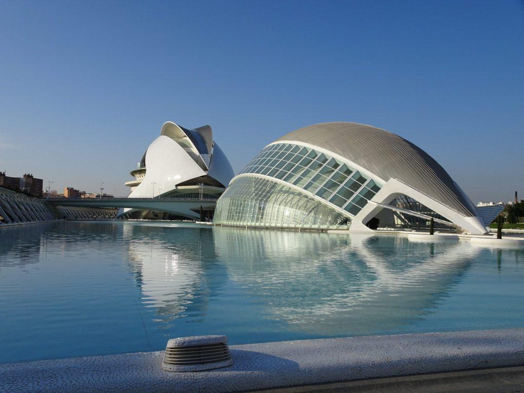 Ciudad de los Artes y las Ciencias, Valencia, Spain