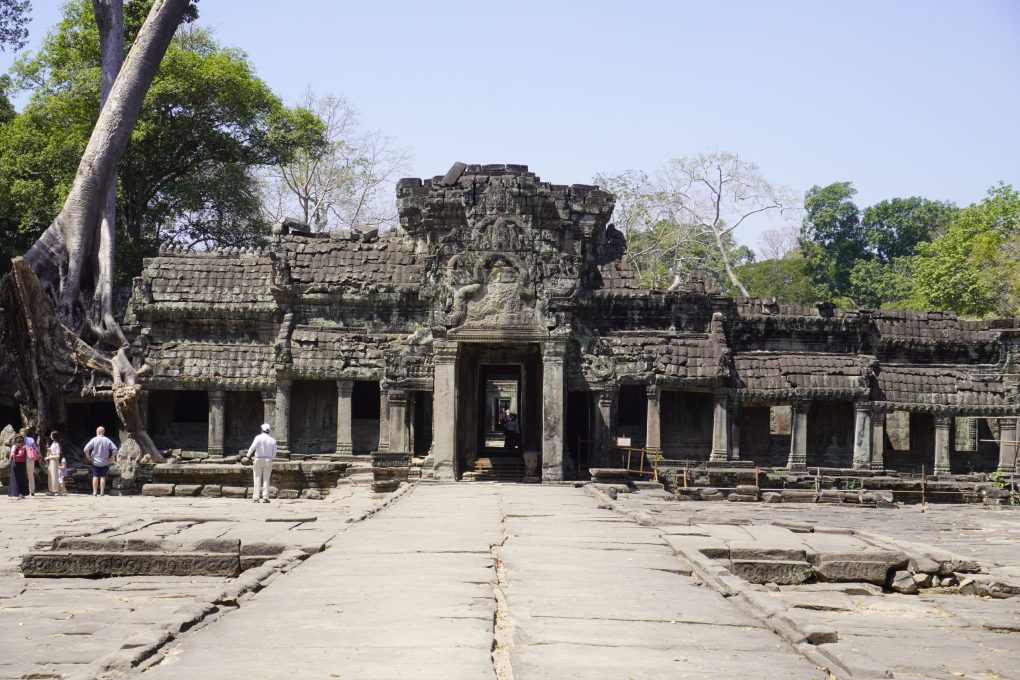 Temple in the Angkor Archeological Park
