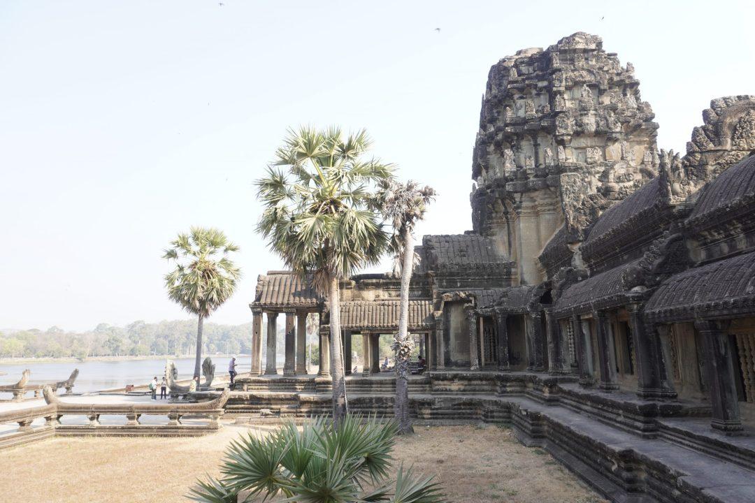 entry gates to Angkor Wat, Cambodia