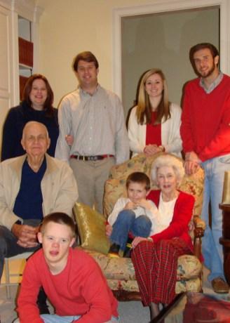 Hood Family - Ninny + Pop + Grandkids