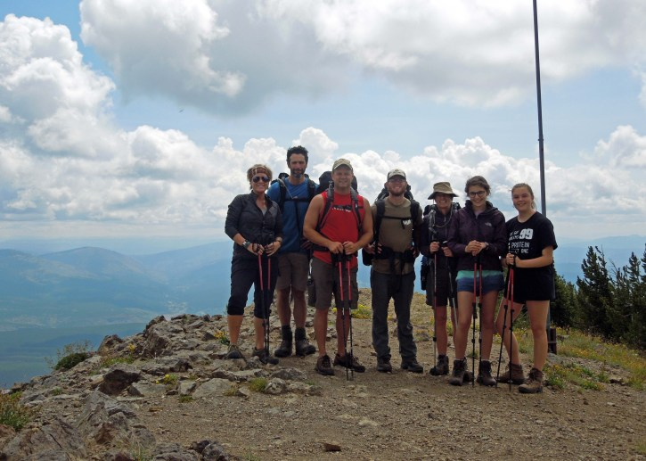 Our group on the summit!