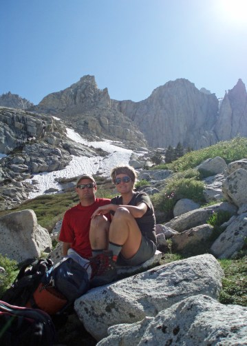 Mountaineering boots {Photo: Mt. Whitney, 2010}