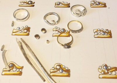 Wendy's Curl Ring – Step 1: Starting Designs