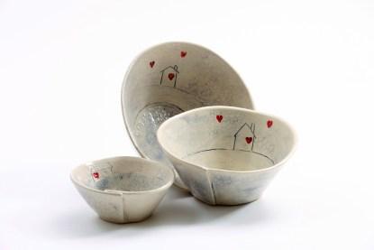 irish pottery home comfort bowls