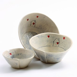 irish pottery home comfort bowls