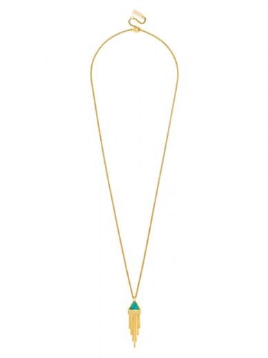 Bauble Bar Delta Fringe Necklace