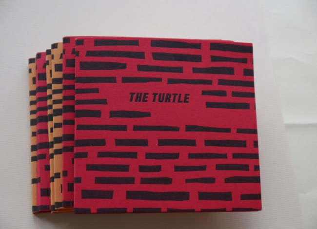 Bushnell's Turtle Handmade Book