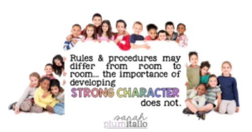 Character matters.
