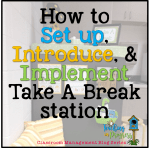 How to Implement Take-a-Break