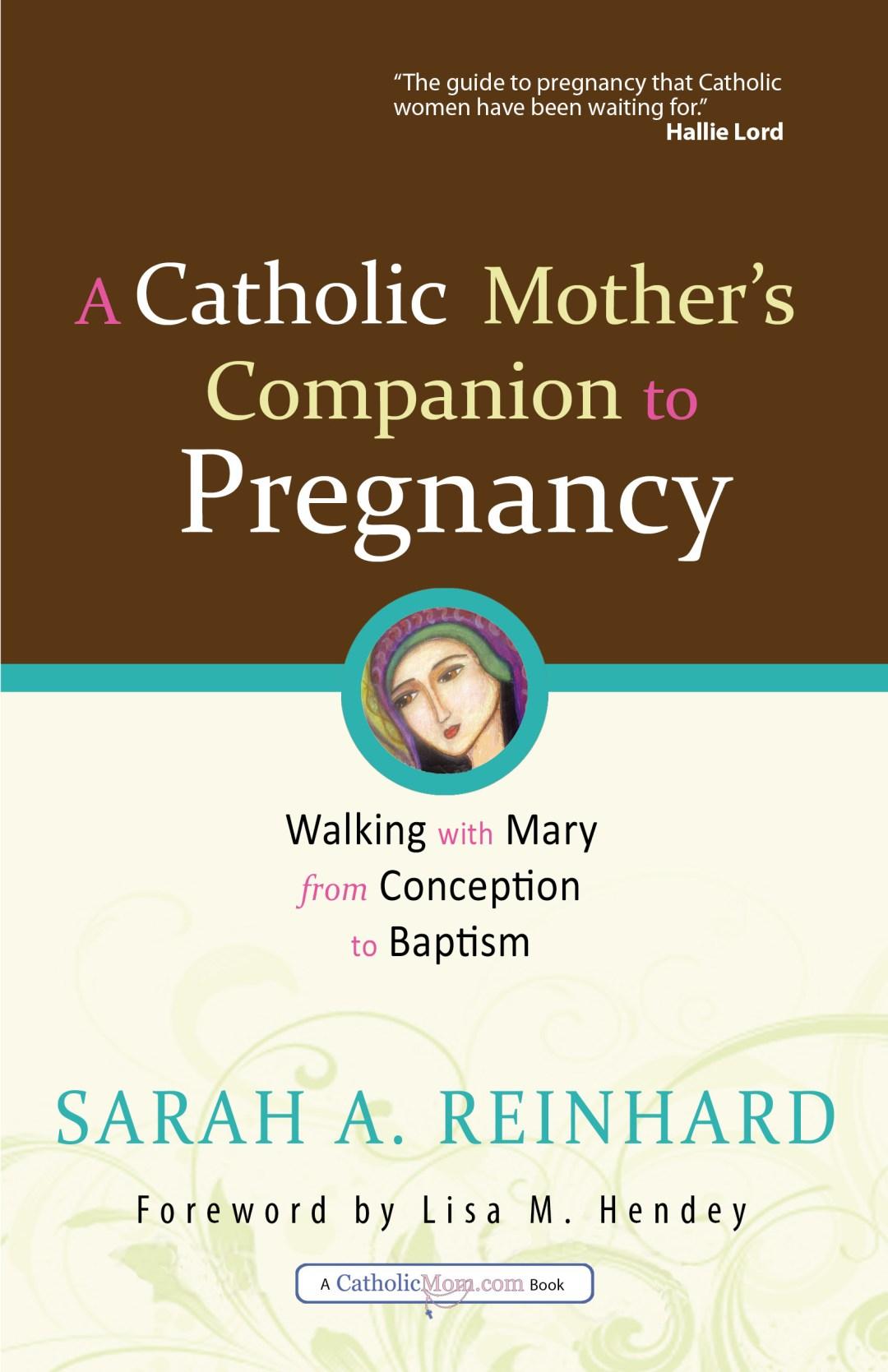 A Catholic Mom's Companion to Pregnancy by Sarah A. Reinhard