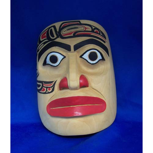 Cedar Raven Human Mask by Alfred Davidson 3rd